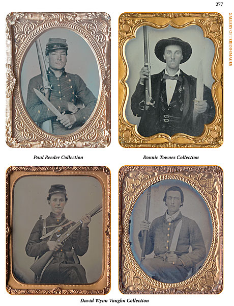 Confederate Civil War Soldier Images Ambrotypes Armed Photographs
