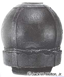 12-pounder Bormann Fused Ball on Original Sabot